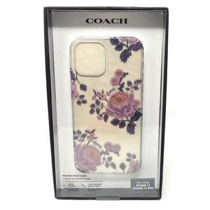 Coach Slim Case for iPhone 12 12 Pro  Moody Floral